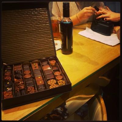 amour beauté et chocolats