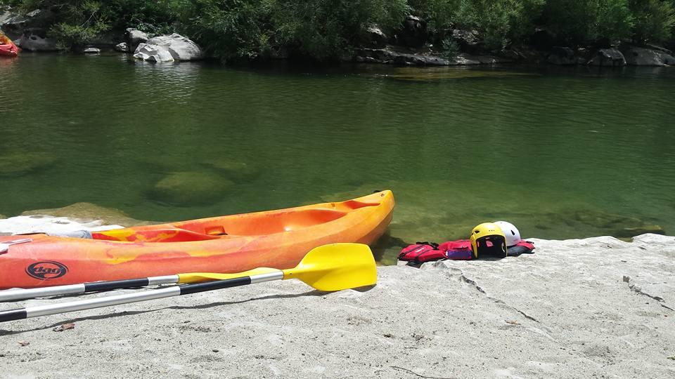 Une journée de canoë kayak