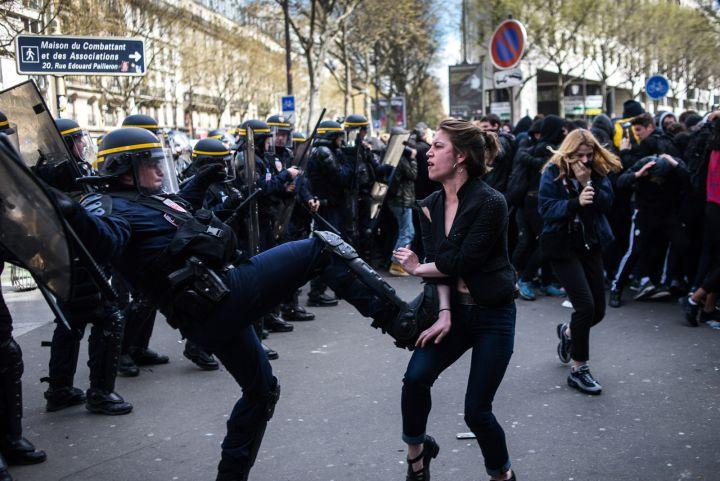 Le #debatdumardi : manifestations et violences