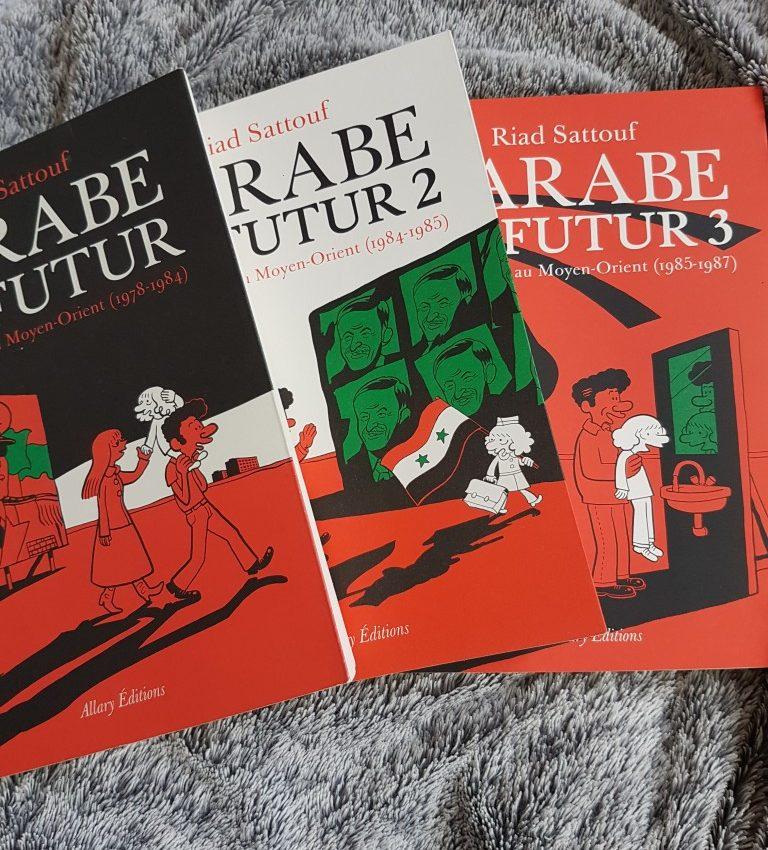 L'arabe du futur tome 1, tome 2 et tome 3 !