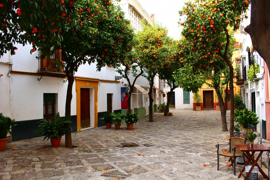 Séville, la douceur de l'Andalousie, le piquant de l'Orient