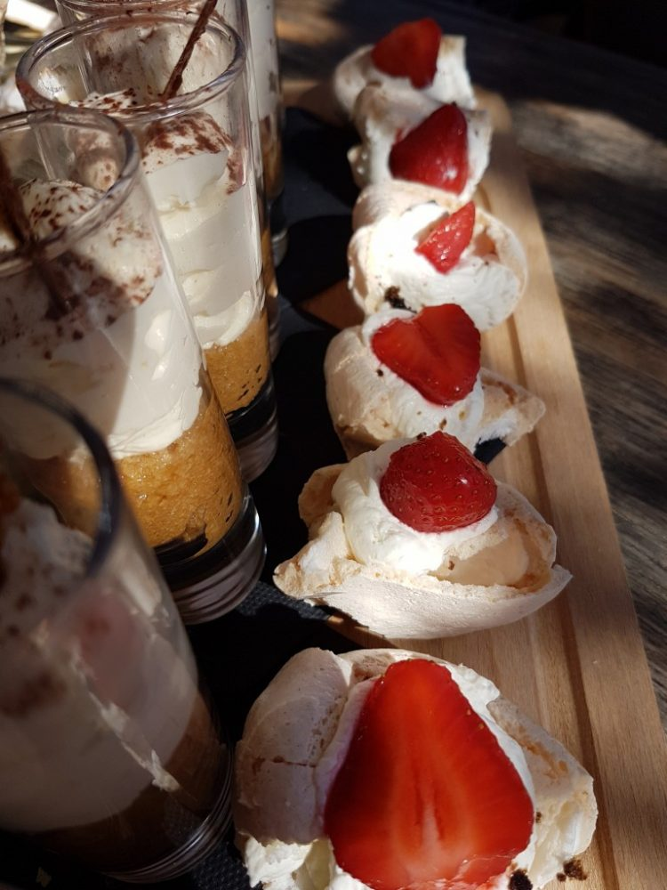 dessert plage privée