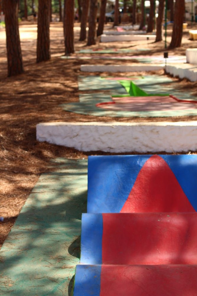 mini-golf camping bella sardinia
