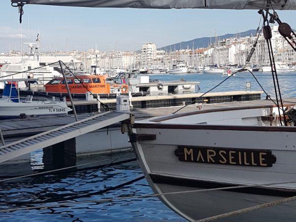 Marseille bateau