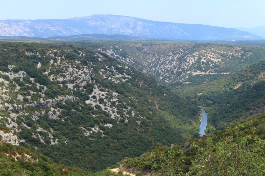 Randonnée dans les gorges de l'Hérault
