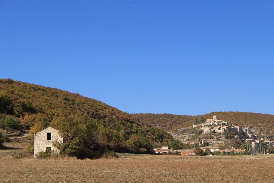 Banon dans les Alpes de Haute Provence