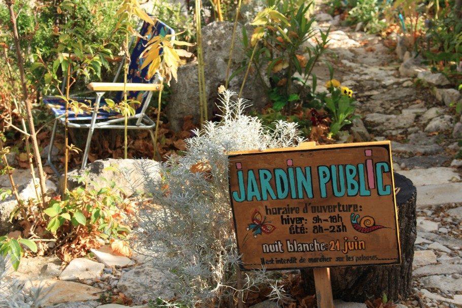 jardin public banon