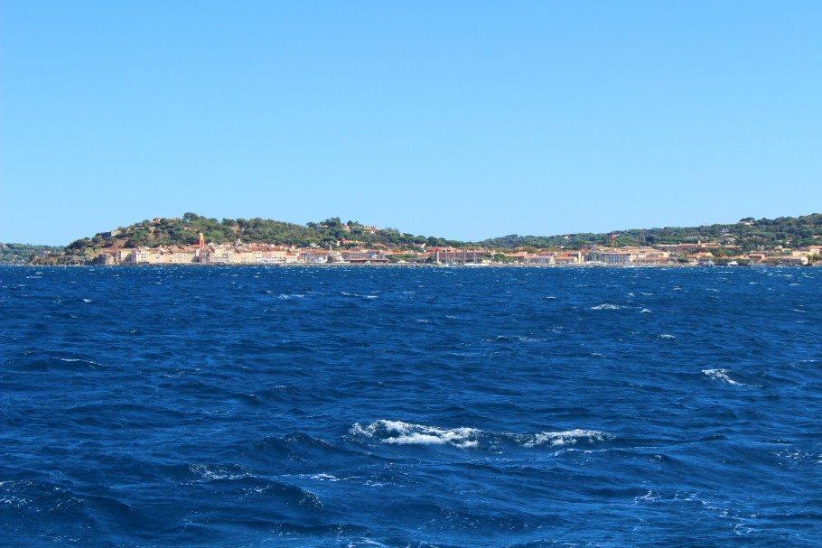 saint tropez vue mer
