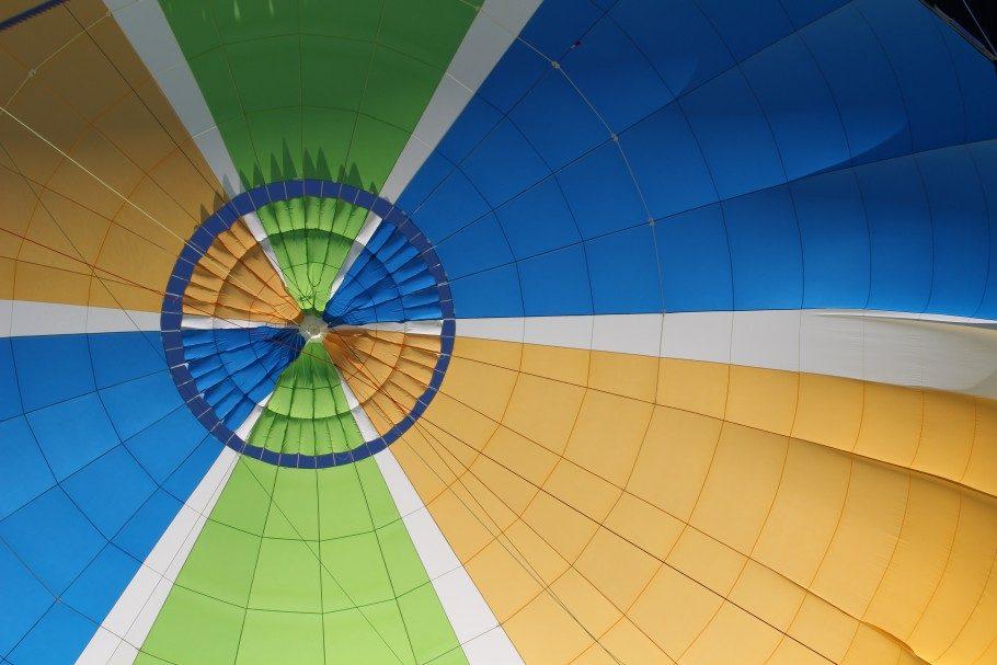 montgolfiere atterissage