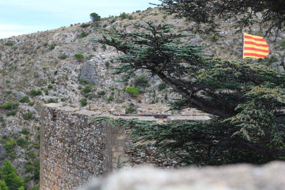ruines castelnou