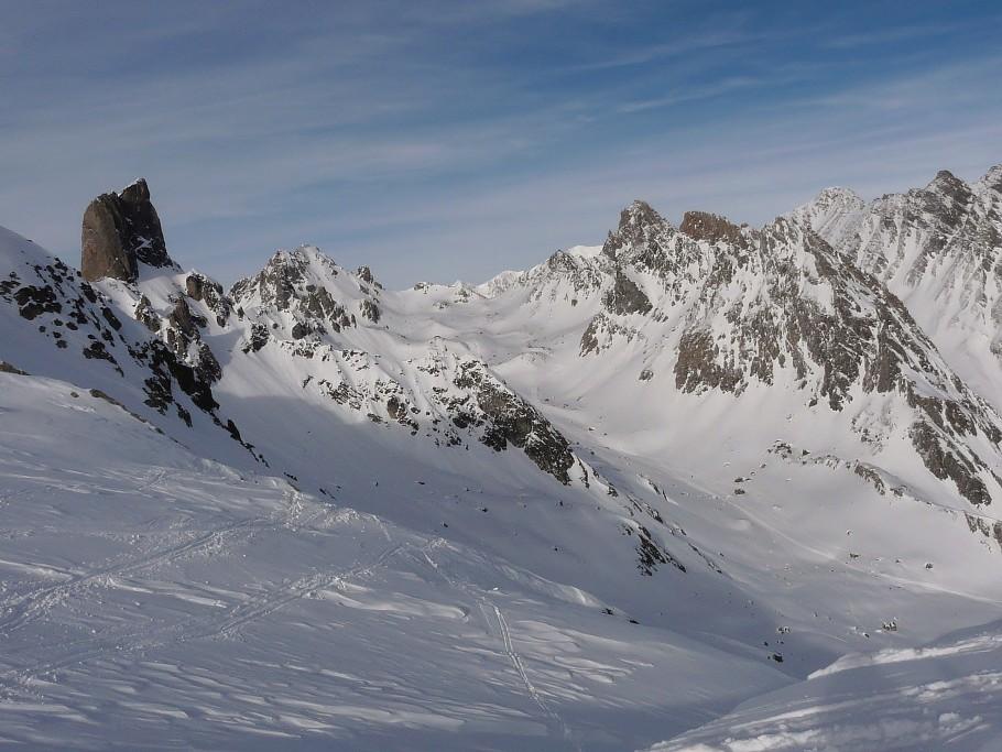 rando à ski dans le Beaufortain
