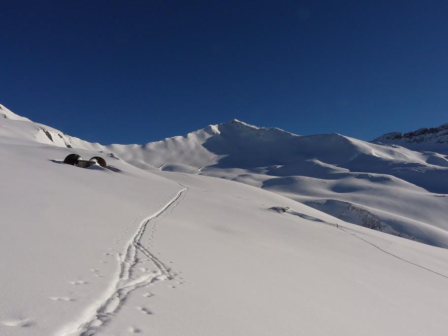 randonnée à ski dans le Beaufortain