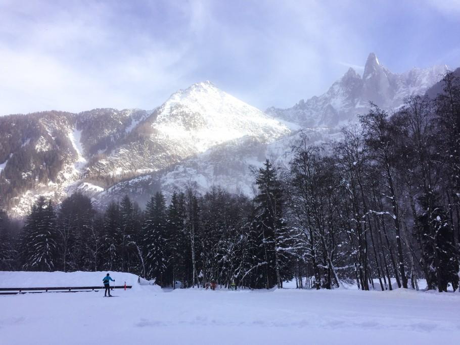 ski de fond à Chamonix