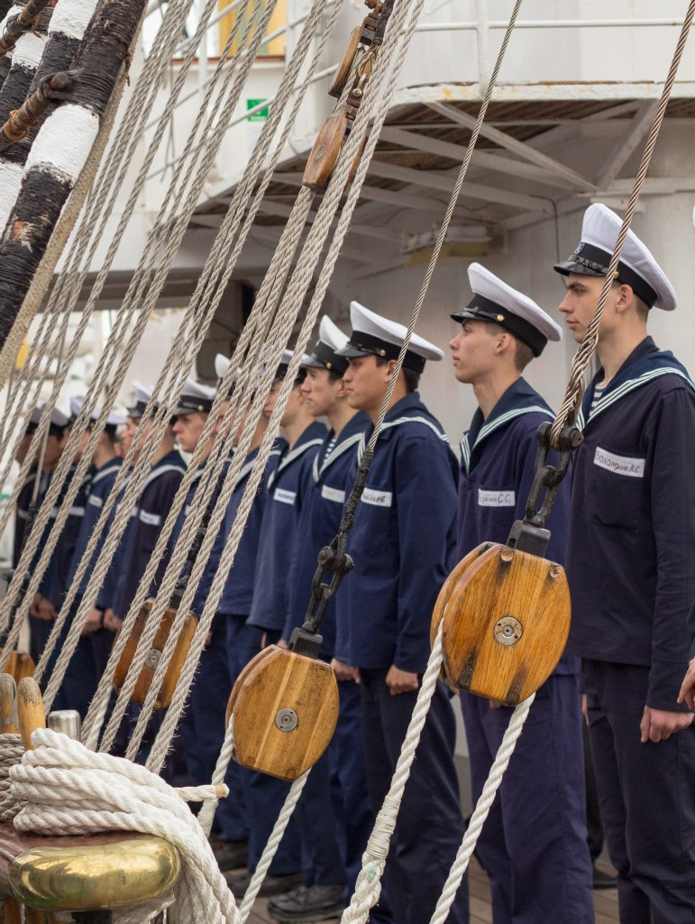 Krusenstern cadets