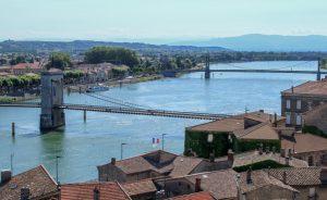 pont suspendu tournon sur rhone