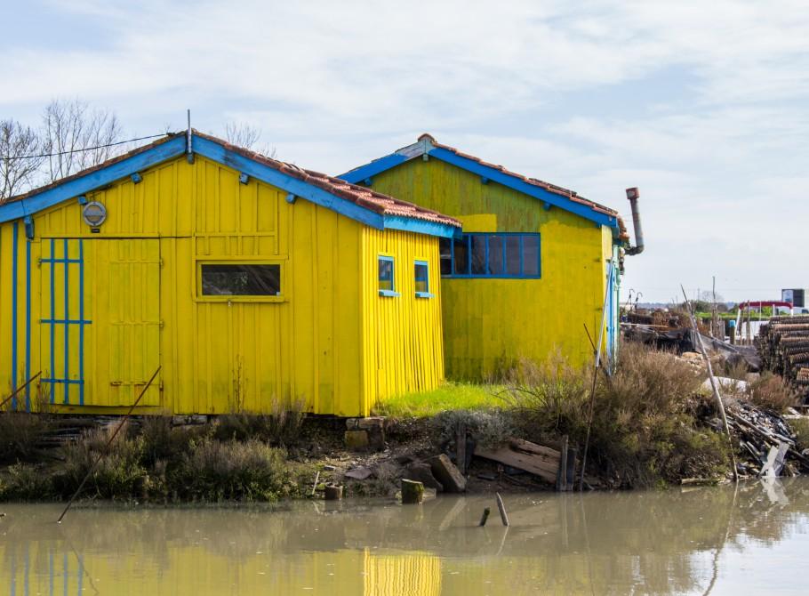cabanes pêche oleron