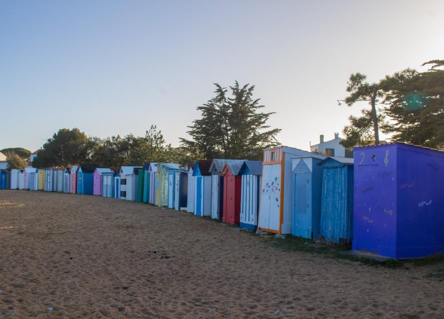 cabanes de plage oleron
