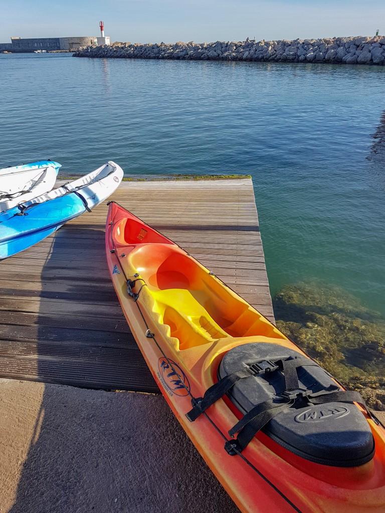 kayak med sete