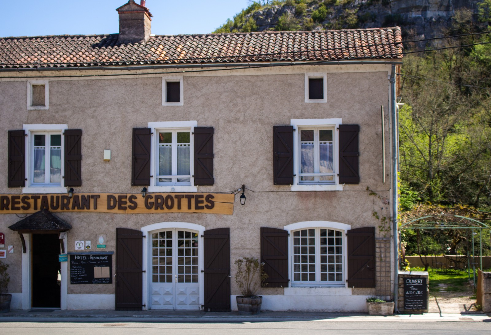 restaurant de la grotte lot