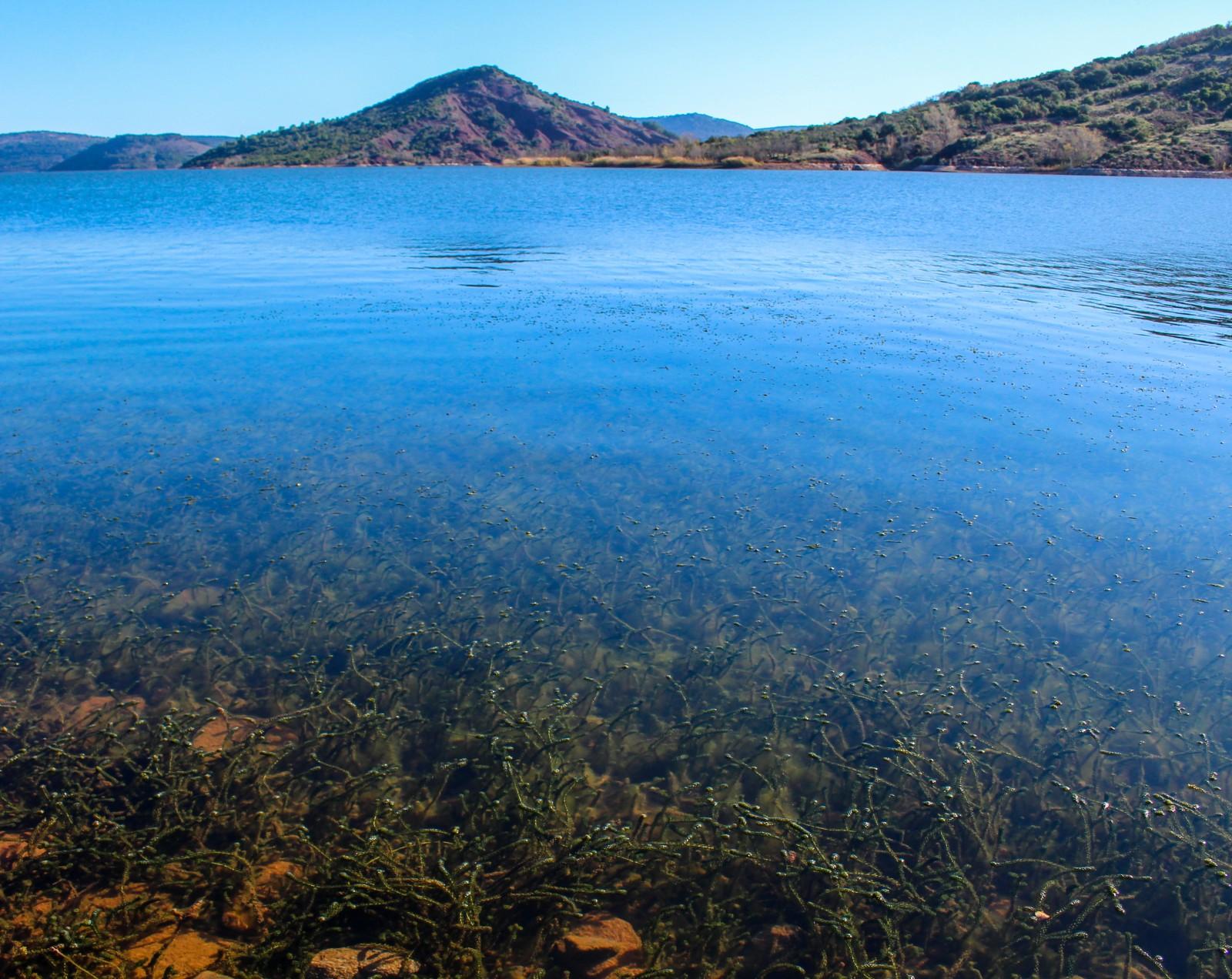 lac du salagou visiter