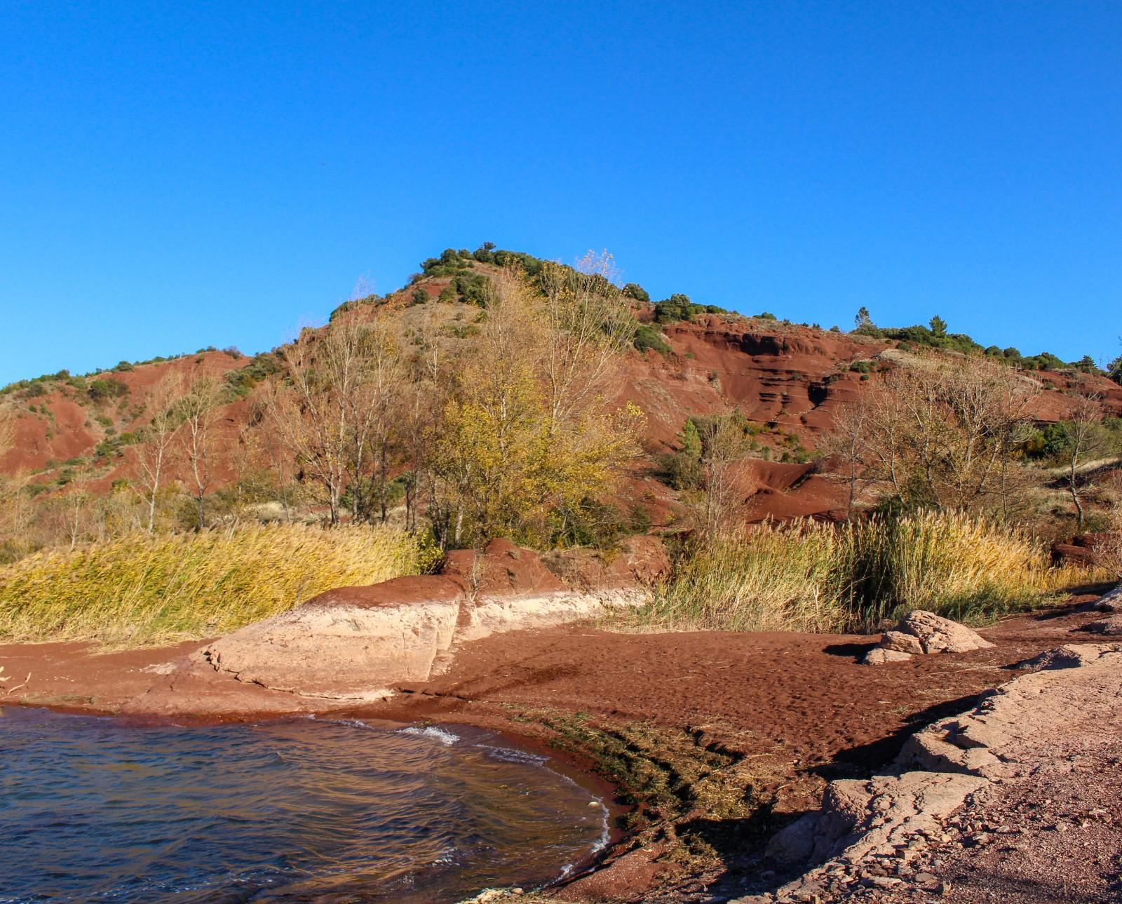 randonnées lac salagou