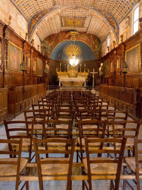 chapelle valrreas enclave