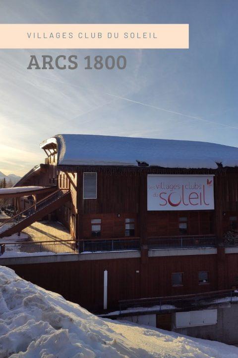 villages clubs du soleil Arcs 1800