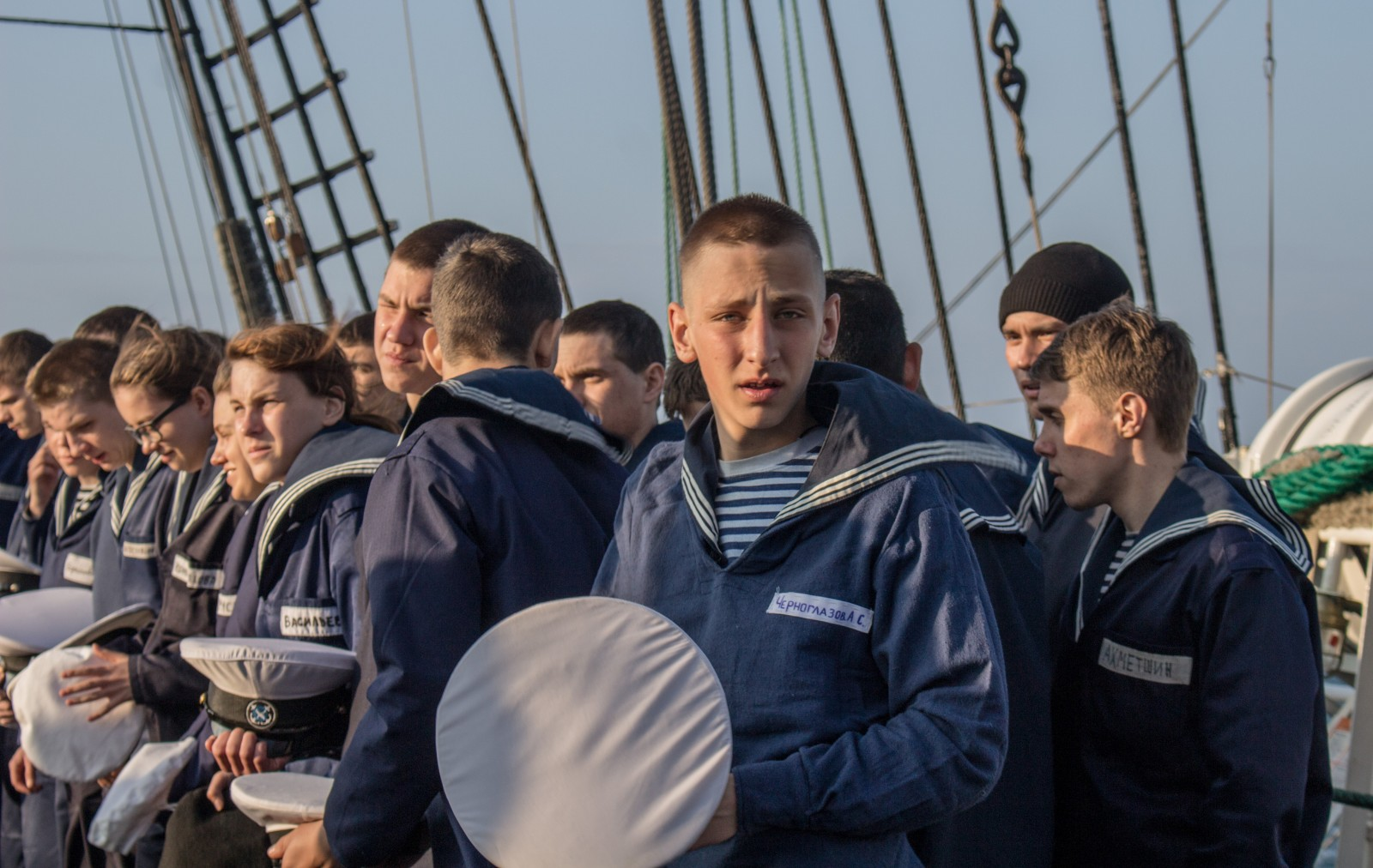 Les cadets du Krusenstern