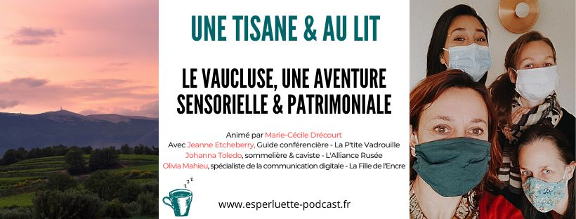 podcast Vaucluse